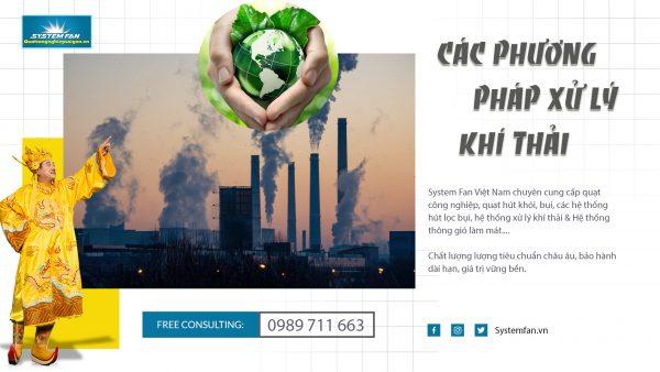 Phương pháp xử lý khí thải