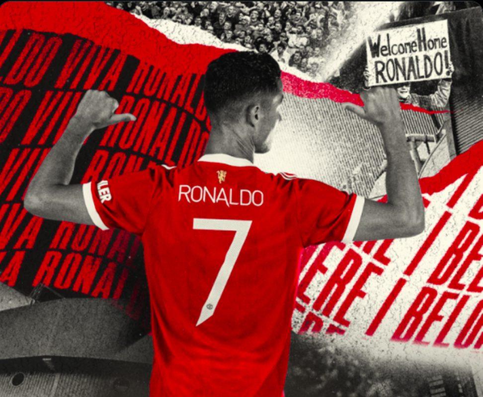 Áo đấu Ronaldo tại Man United
